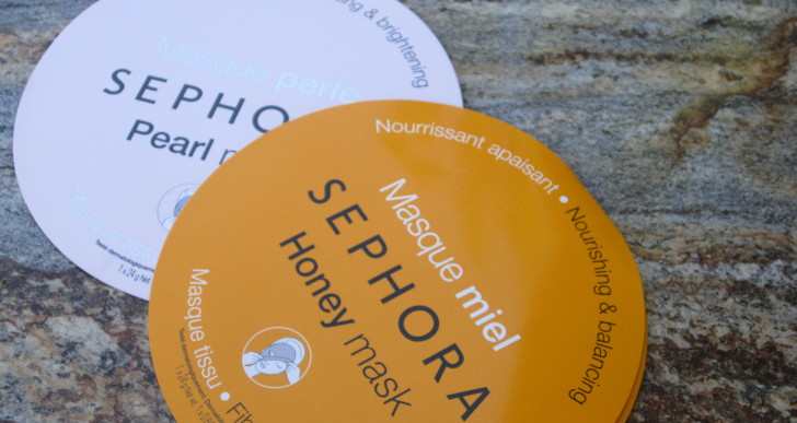 Sephora Honey Mask & Pearl Mask